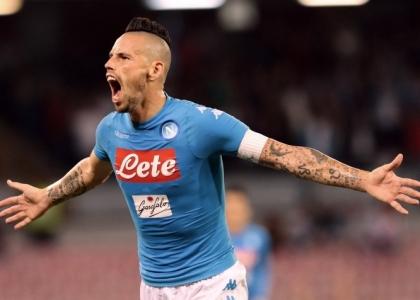 Serie A: Hamsik-Gabbiadini, il Napoli stende il Chievo