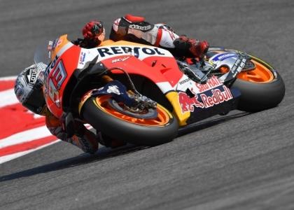 MotoGP, Aragona: Marquez padrone, sua la pole