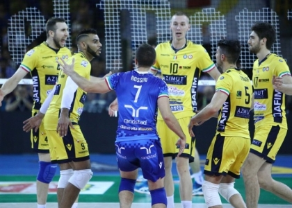 Volley, SuperLega: Modena travolgente, è in testa da sola