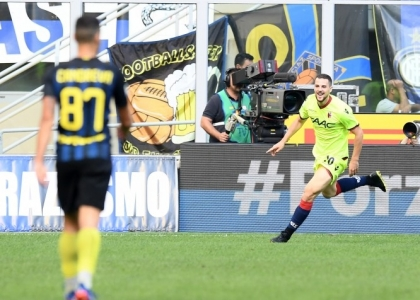 Serie A: Inter-Bologna 1-1, gol e highlights. Video