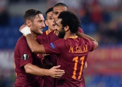 Europa League: poker Roma, Astra Giurgiu travolto