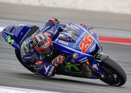 MotoGP, test Phillip Island: Vinales è un fulmine, Rossi è in ritardo