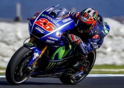 MotoGP, Qatar: fulmine Vinales, Rossi solo nono