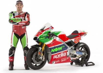 MotoGP: presentata la nuova Aprilia del Team Gresini