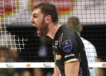 Volley, playoff SuperLega: Civitanova e Trento scappano sul 2-1