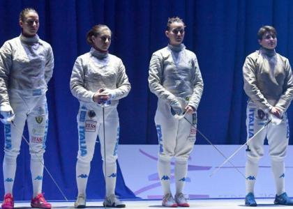 Scherma, Mondiali di Lipsia 2017: grande Italia; è oro nella sciabola femminile a squadre