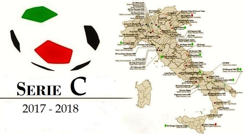 Serie C, 2017-2018: calendario completo, girone A