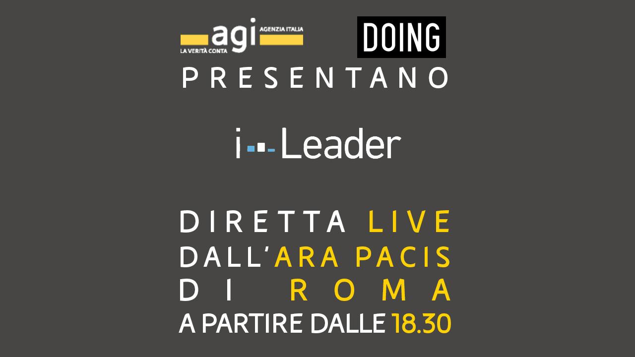 AGI presenta la generazione #iLeader - Guarda la diretta streaming