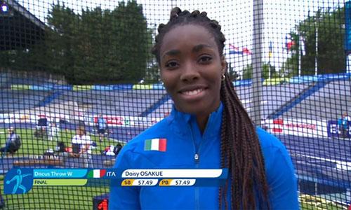 Intervista all'atleta Daisy Osakue:
