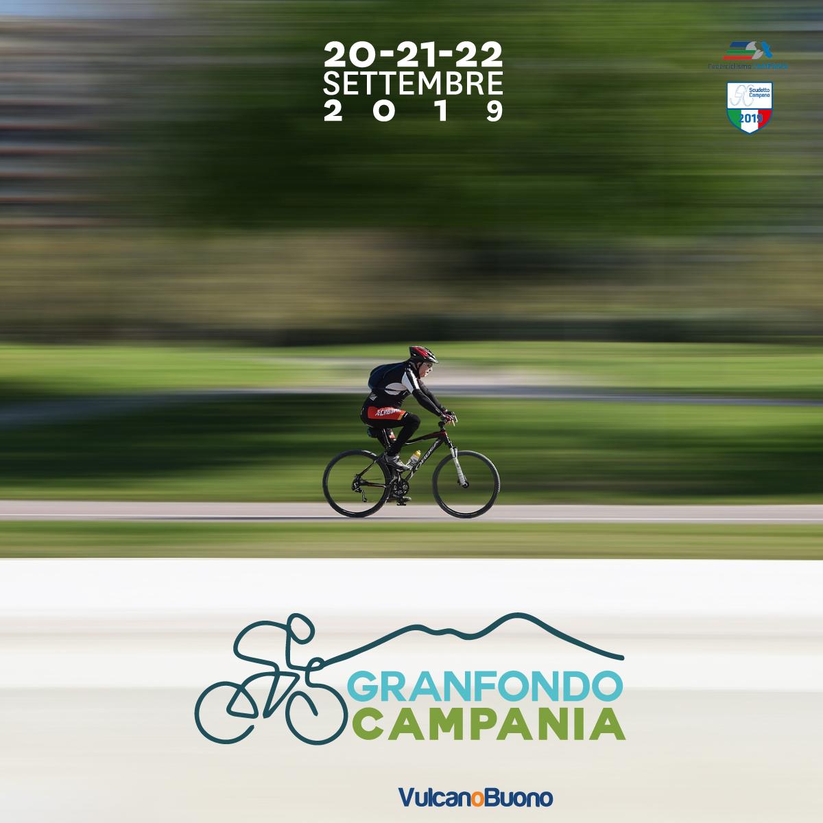 Gran Fondo Campania: 120 chilometri, centinaia di atleti e grandi testimonial