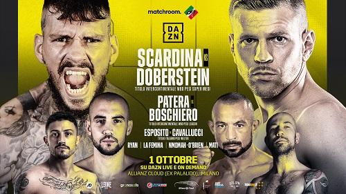 Venerdì a Milano torna la grande boxe con Scardina, Patera, Boschiero, Esposito e La Femina