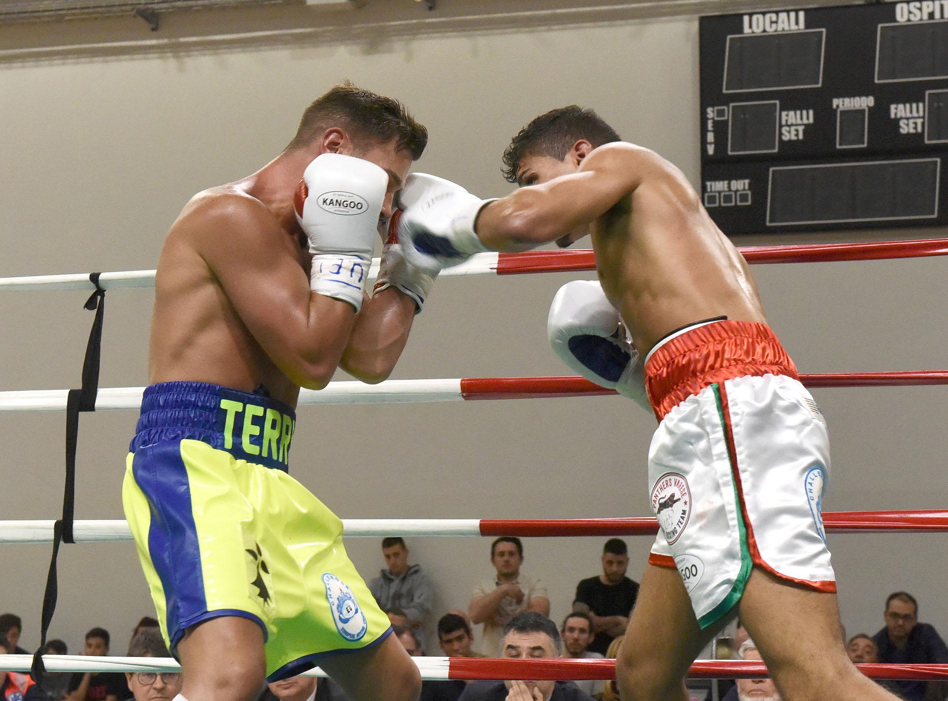 Boxe, a Varese Gallo defraudato della vittoria per l'UE supergallo