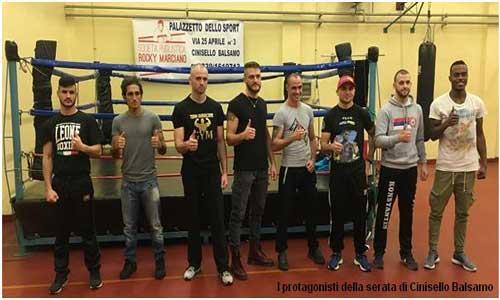 Boxe: Dopo trent'anni, Cinisello Balsamo torna alla grande boxe.