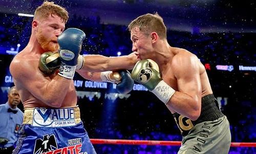Boxe, Alvarez batte Golovkin e porta a De La Hoya tre cinture iridate medi