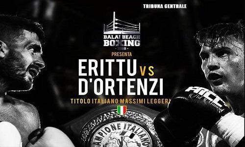 Boxe, doppio tricolore: Erittu-D'Ortenzi sabato a Porto Torres