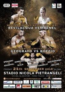 Boxe: al Forum di Roma Bevilacqua e Geografo grandi protagonisti