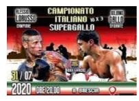 A Brescia con Lorusso-Gallo nei supergallo scatta la serie tricolore della Loreni Boxe
