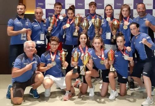 Boxe, conclusi gli Europei schoolboy-girl a Tbilisi: azzurri e azzurre con quattro ori (nove podi) promossi con lode