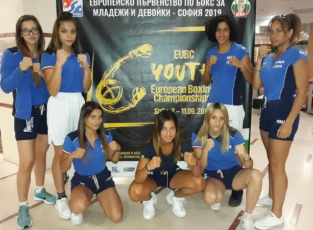 Boxe,l'Italia youth al femminile porta 4 azzurre sul podio agli europei di Sofia