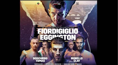 Torna la grande boxe a Firenze con Fiordigiglio, Boschiero e Morello il 19 settembre