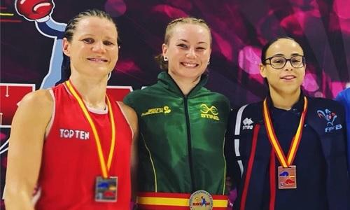 Boxe, in Spagna le giovani Orazi e Rossi oro e argento, Testa bronzo. Out Canfora e Carini