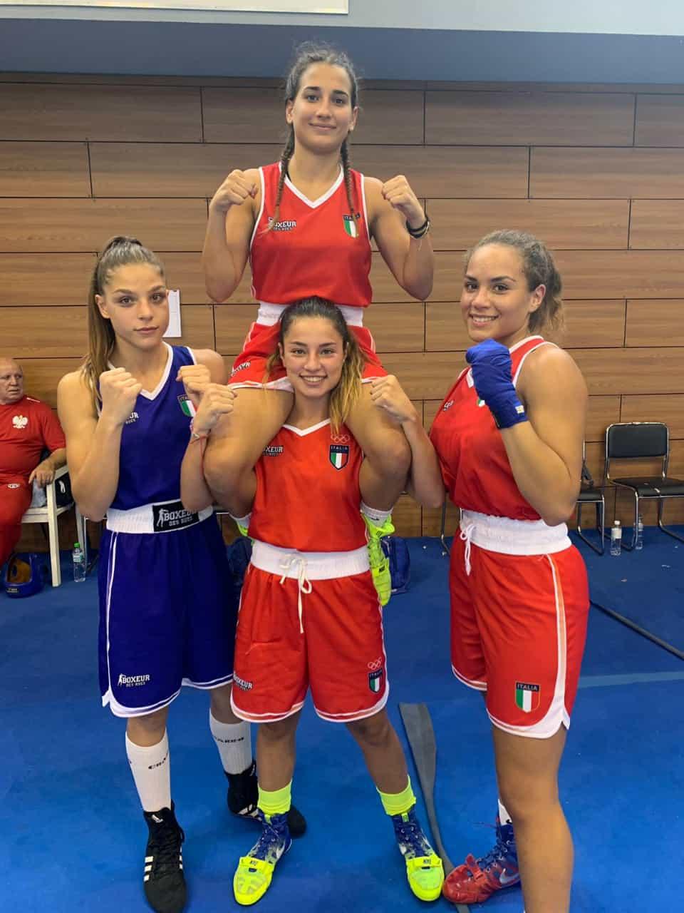 Boxe, storico trionfo delle azzurre agli europei youth a Sofia