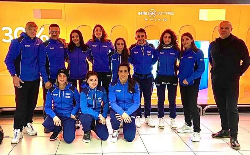 Azzurre splendide in Serbia:  Cosentino, Testa e Nicoli tris d'oro, Severin argento, Lamagna e Sannino (jr) bronzo