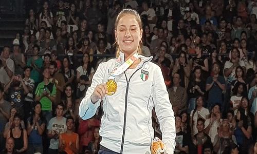 Boxe: Martina La Piana prima azzurra a vincere l'oro ai Giochi Giovanili a Buenos Aires