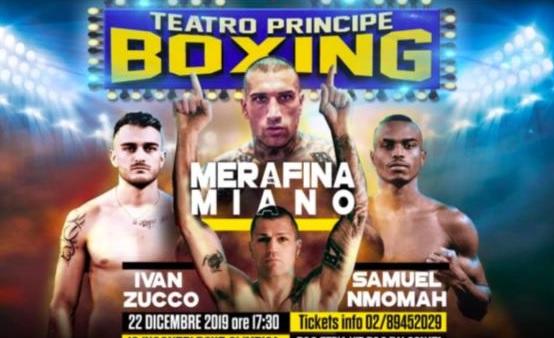 Boxe - Pugni nel mondo ma anche in Italia da Scardina nei top WBA al Teatro Principe