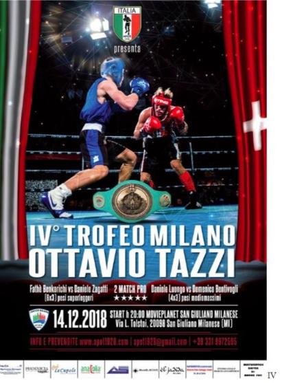 Da Roma a Milano: ricco week-end di boxe