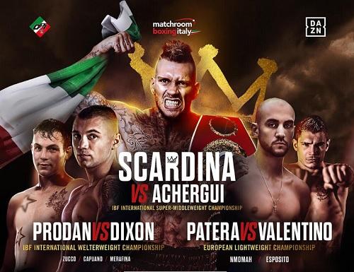 Boxe - Il 25 ottobre all'ex Palalido: Scardina, Prodan, l'europeo leggeri Patera-Valentino, oltre a Zucco, Esposito, Merafina e i gemelli Nmomah