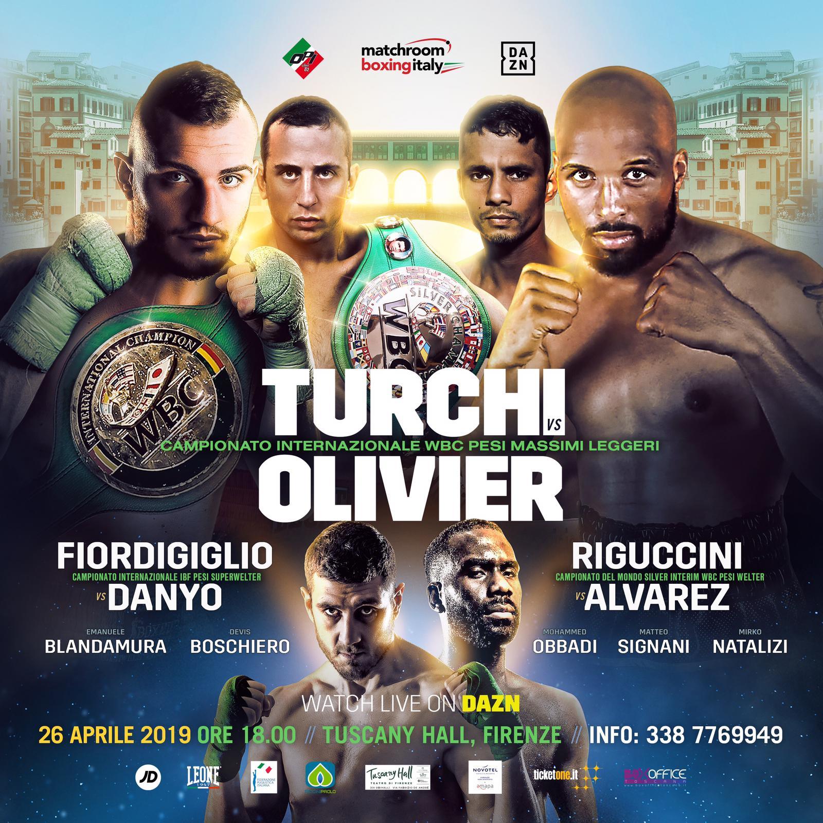 Grande boxe a Milano e Verona con Scardina, Grandelli, Boschiero, Rigoldi e Turchi