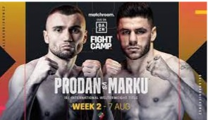 Intervista ad Alex Cherchi sulla sfida di Prodan contro Marku sabato a Londra