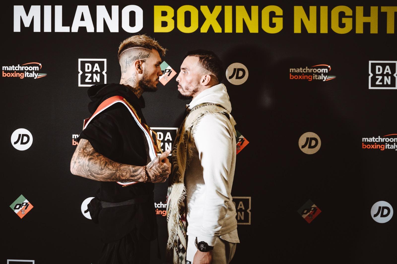 Boxe - Presentate dalla OPI 82 le tre sfide titolate di venerdì 25 ottobre all'ex Palalido, sulla Terrazza Duomo di Milano