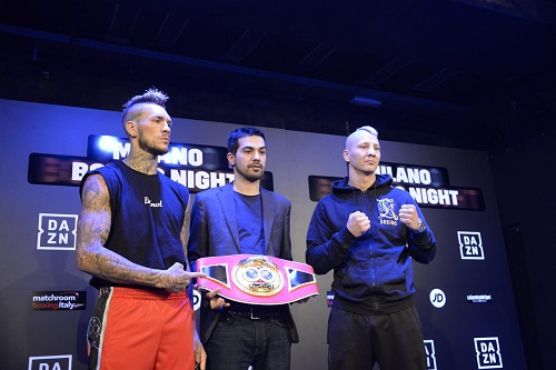 Boxe, Scardina, Prodan e la Trovato si sono sfidati con lo sguardo dei loro avversari al peso