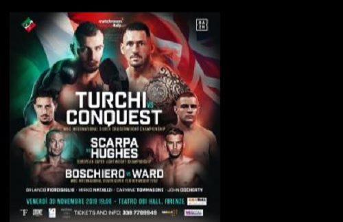 Boxe: Firenze ospita sfide titolate con Scarpa, Turchi e Boschiero contro gli inglesi