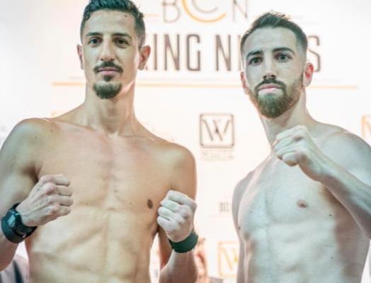 Boxe: a Barcellona Scarpa abbandona contro Martin per l'europeo superleggeri