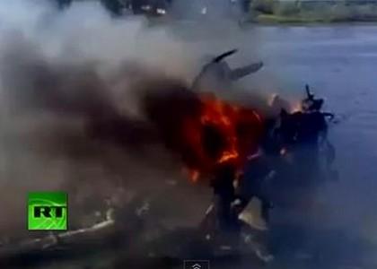 Hockey: tragedia aerea in Russia, 44 morti. VIDEO