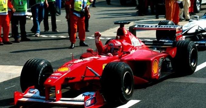 10 settembre 2000 Schumi affianca Senna: 41 GP vinti
