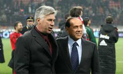 Berlusconi: 'Ancelotti è l'uomo giusto per la nazionale'