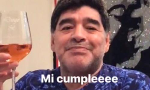 Maradona: 57 anni a Dubai