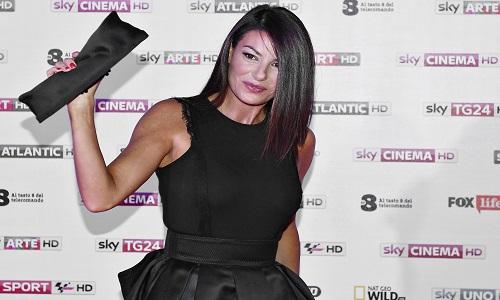 Ilaria D'Amico a Sanremo 2018