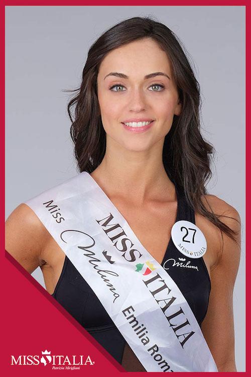 Sport a Miss Italia 2018: Maeve Billi tra cavalli e ginnastica