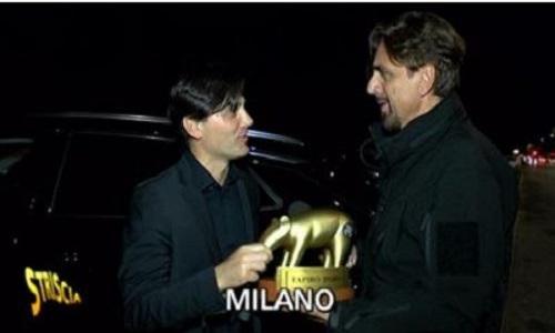 Sport in Tv : Un tapiro per Montella