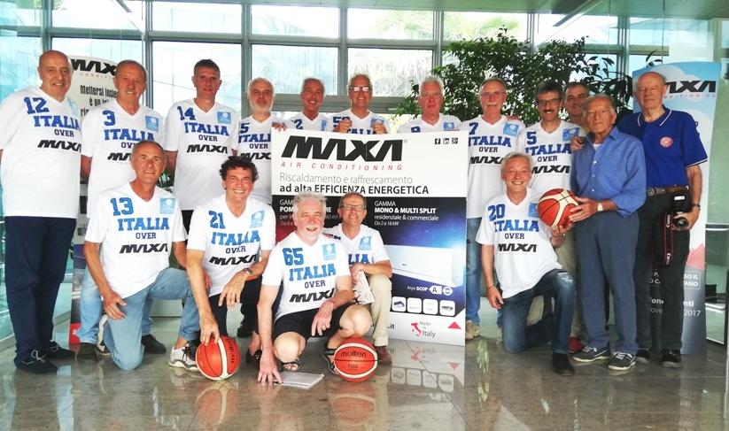 Maxibasket, Azzurri Over 65 quasi in forma Mondiale