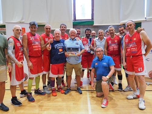 Maxibasket – Agli Over 55 di Milano il Torneo Belfor di Loano