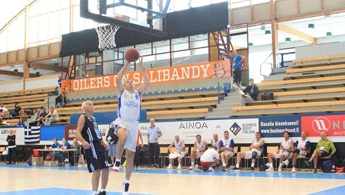 Mondiali Maxibasket – Azzurri Over 60 ai quarti, male gli Over 65