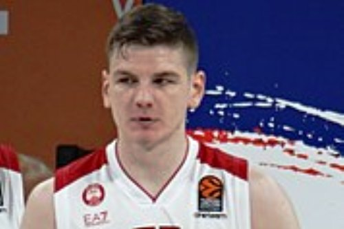 Basket, Olimpia Milano: stagione finita per Gudaitis