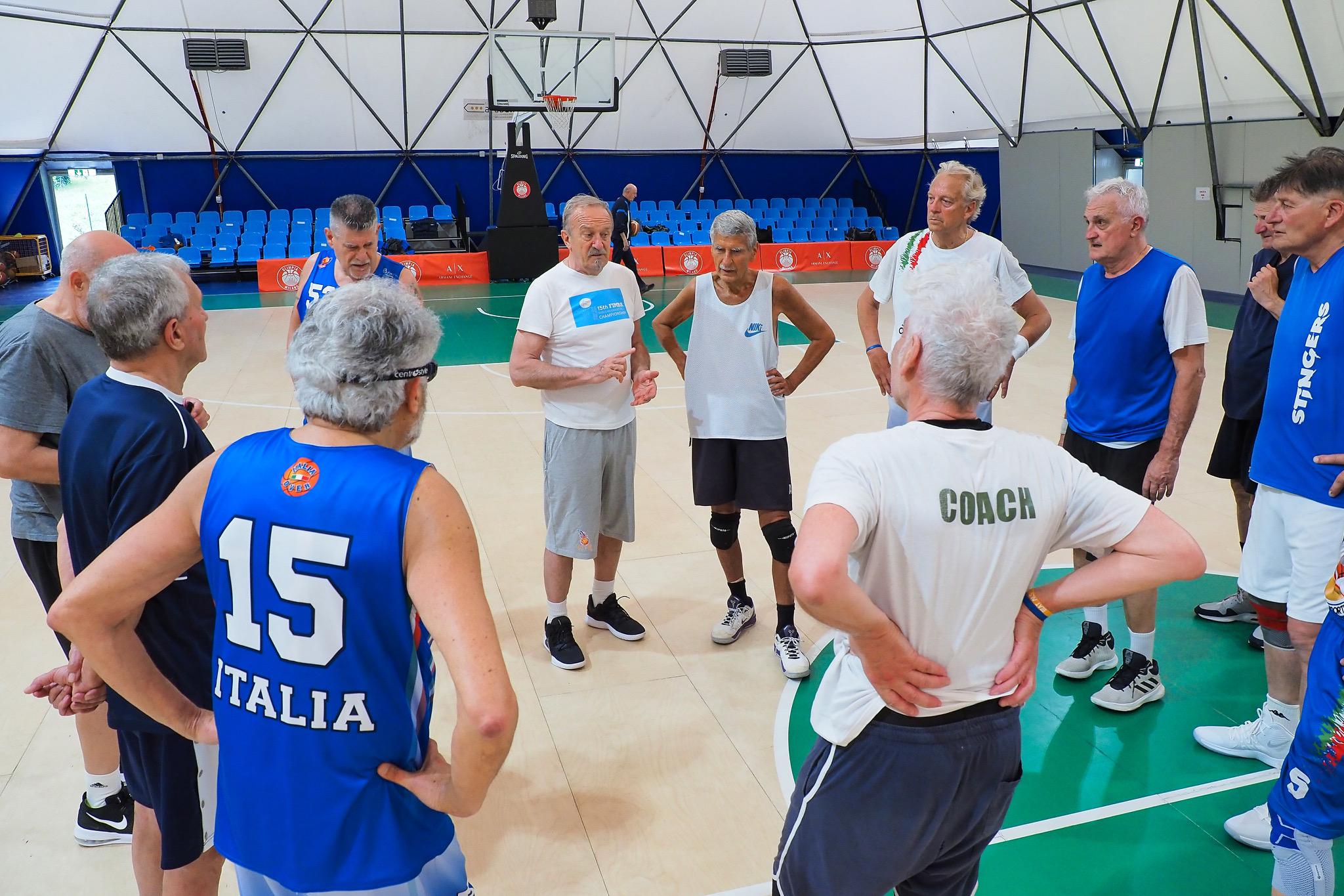 """Basket - Azzurri """"Over"""" dai 65 in su di nuovo in palestra"""