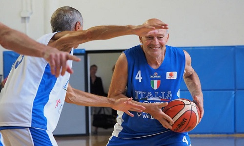 Maxibasket, Over 65 e 70: divise azzurre, speranze rosee